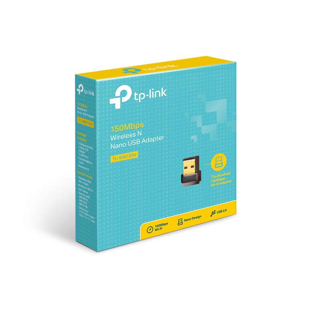 TP-Link TL-WN725N 150Mbps Wireless N Nano USB Adapter (pc)