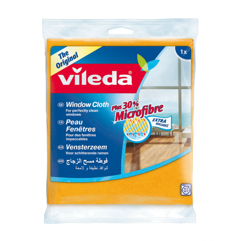 Vileda Window Cloth + 30% Microfiber VLDW141358 (pc)
