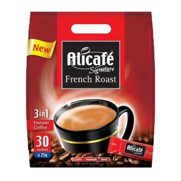 Alicafe 3-in-1 Instant Coffee 25g - French Roast (pkt/30pcs)