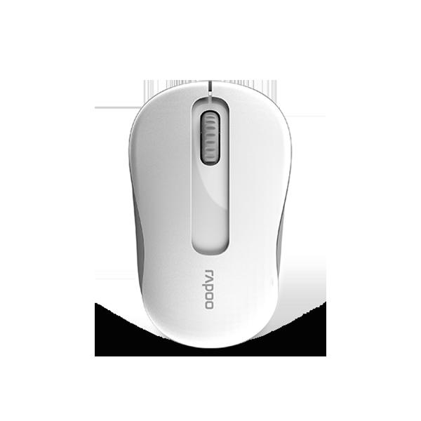 Rapoo M10 Plus Wireless Optical Mouse - White