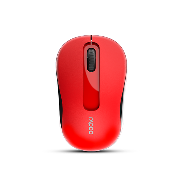 Rapoo M10 Plus Wireless Optical Mouse - Red