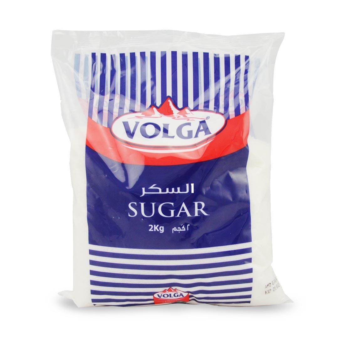 Volga White Sugar - 2kg (pc)