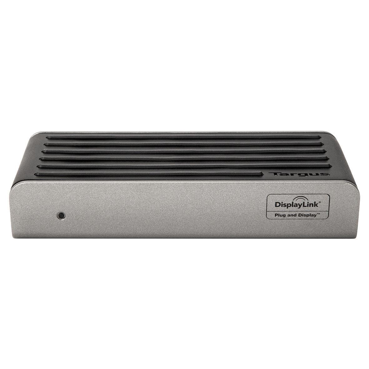 Targus 2K Universal Docking Station USB 3.0 Single 2K or Dual HD Video DOCK120EUZ - Black