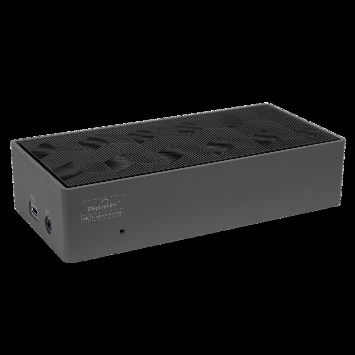 Targus USB-C Universal DV4K Docking Station with 100W Power DOCK190EUZ - Black