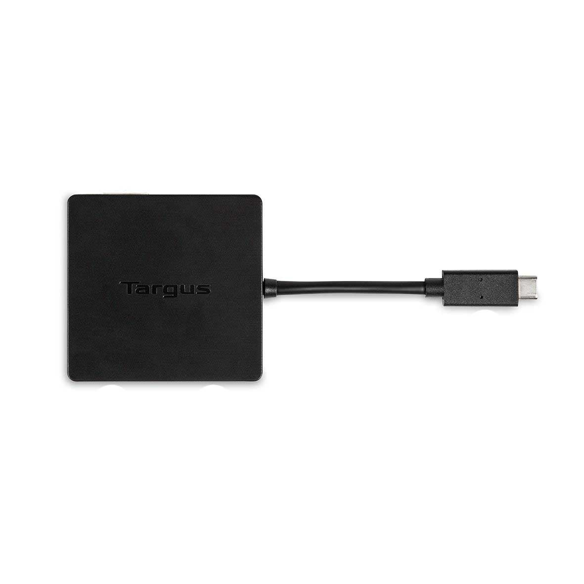 Targus USB-C Alt-Mode Travel Docking Station DOCK411EUZ - Black