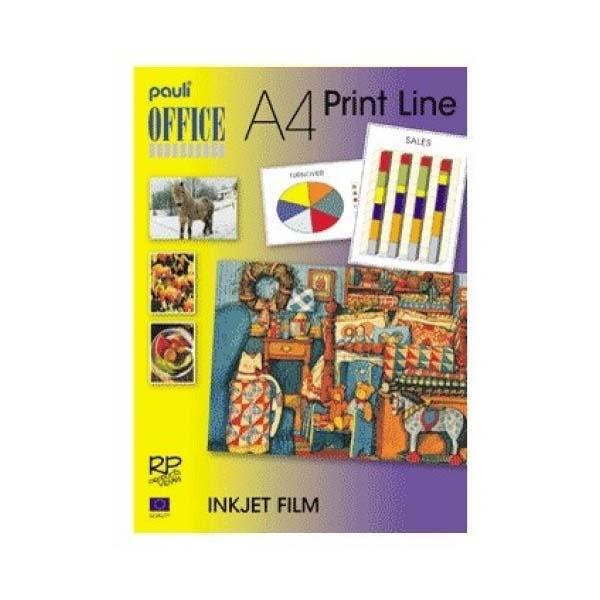 Pauli 10-8050CA Inkjet Film Adhesive - Clear (pkt/50pcs)