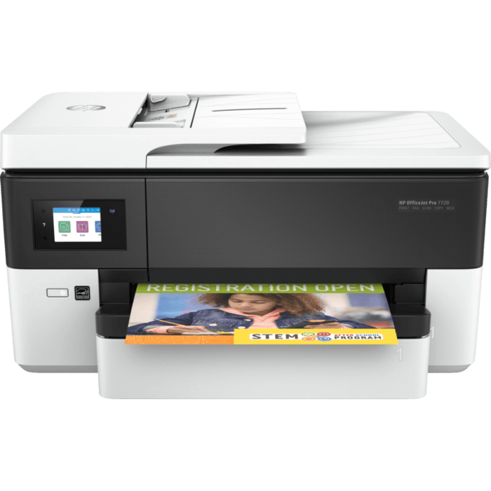 HP OfficeJet Pro 7720 Pro A3 Wide Format All-in-One Printer (Y0S18A#A80)