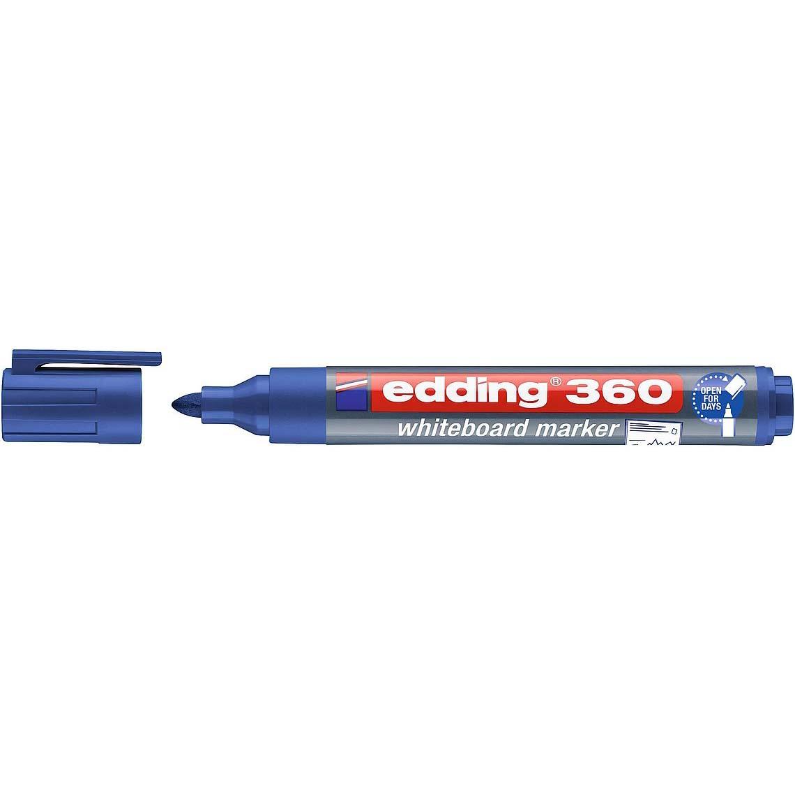 Edding 360 Whiteboard Marker Bullet Tip - Blue (pc)