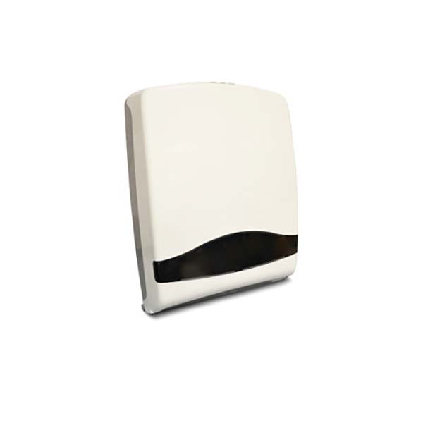 AKC TD04 Plastic C-Fold Tissue Dispenser - White (pc)
