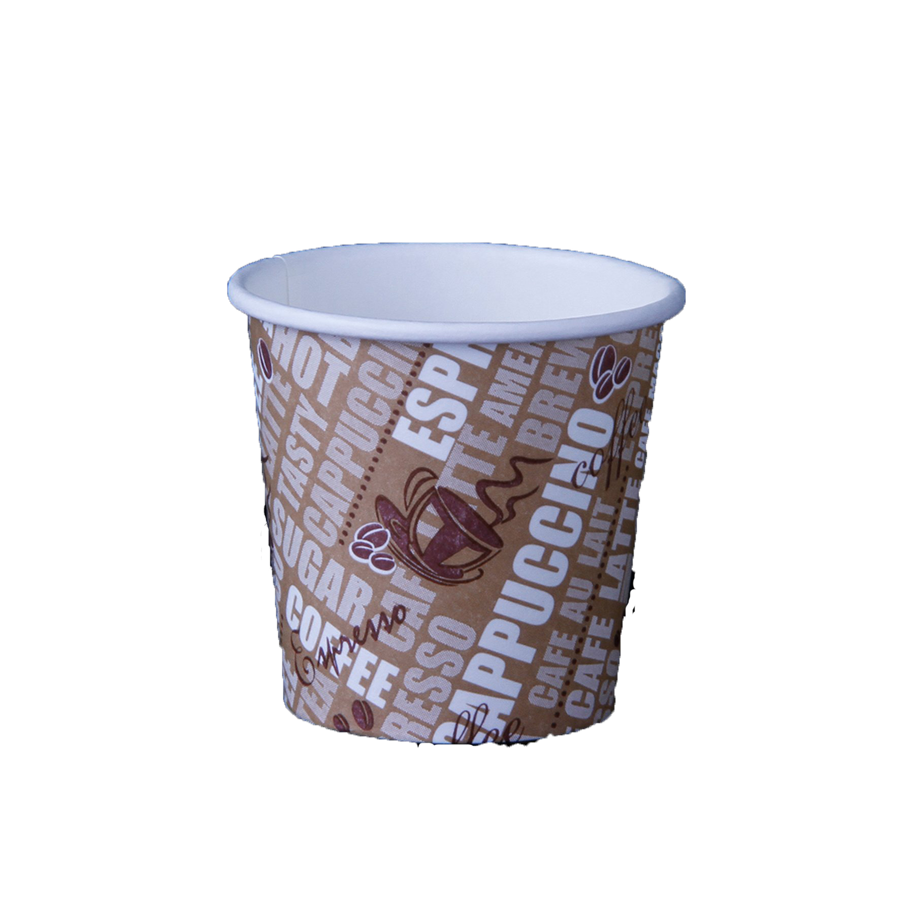 Hotpack PHDC4 Single Wall Paper Cup - 4oz (pkt/50pcs)