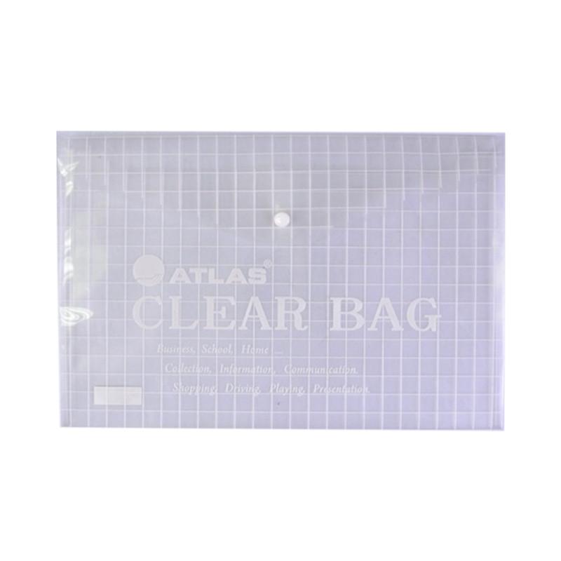 Atlas AS-F10008 Clear Bag FS - Clear (pkt/12pcs)