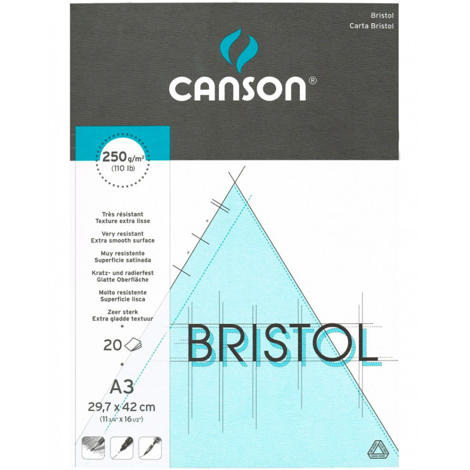 Canson Bristol Graph Pad 250gsm CAN0457121 - A3 (pkt/20s)