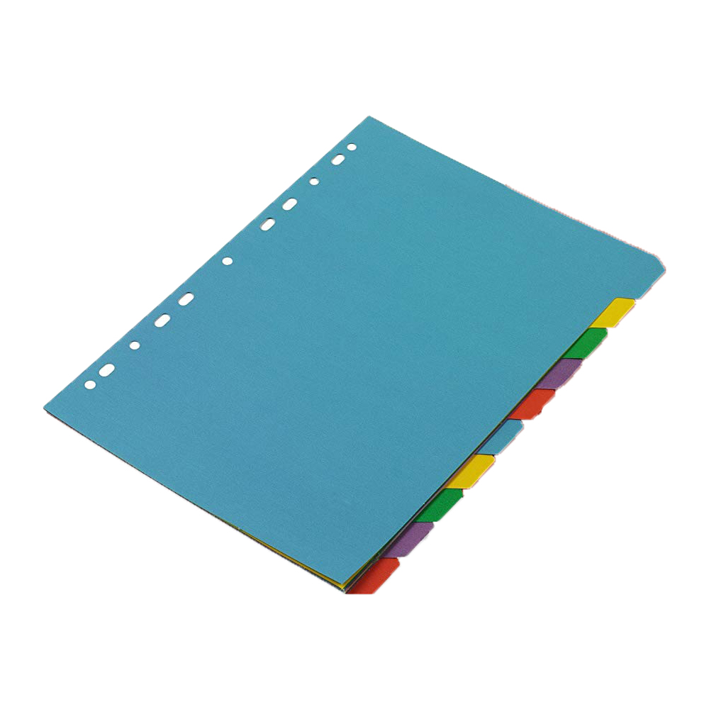 Rexel Karnival A4 Dividers 10 Part - Assorted Colours (pkt/10pcs)