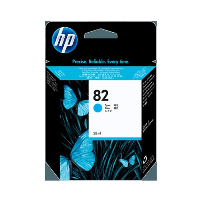 HP 82 (C4911A) Ink Cartridge 69ml - Cyan
