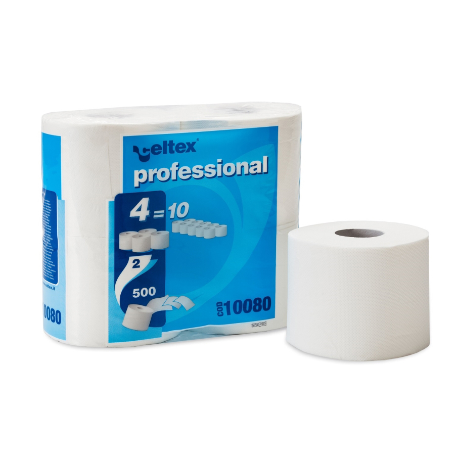 Celtex CX10080 Professional Compact Home Hygienic Paper 2ply 500sheets - ( Box/60rolls )