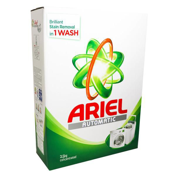 Ariel Automatic Washing Detergent Powder Green - 2.5kg (pc)