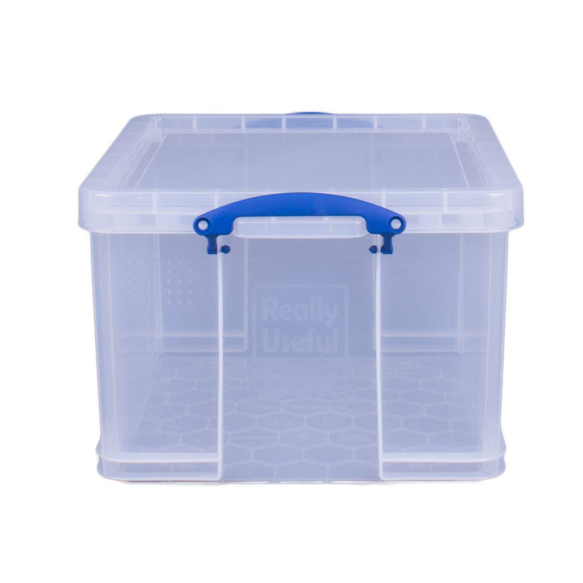 Really Useful Box 42L Plastic Storage Box - Clear (pc)