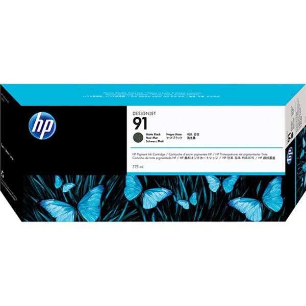 HP 91 775-ml DesignJet Pigment Ink Cartridge (C9464A) - Matte Black