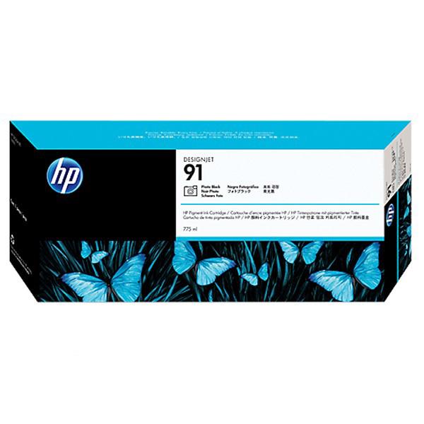 HP 91 775-ml DesignJet Pigment Ink Cartridge (C9465A) - Photo Black