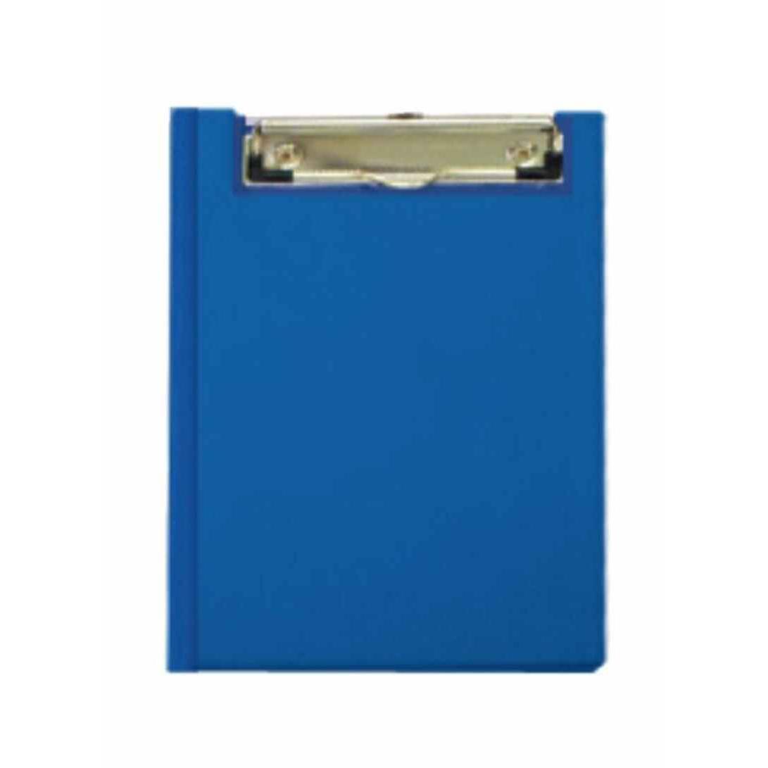 FIS FSCBDA5PVCBL Double Clipboard with Wire Clip A5 - Blue (pc)