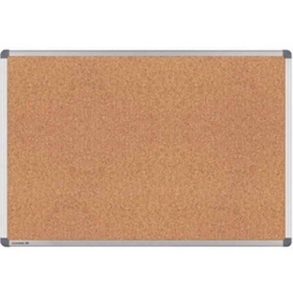 Super Deal Double-Sided Cork Board - 45 x 60cm (pc)