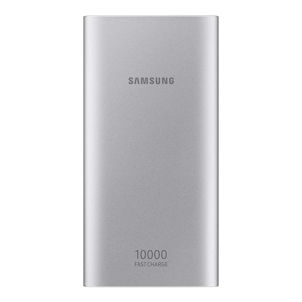 Samsung EB-P1100B Battery Pack 10000mah 15W Micro USB Dual USB Port - Silver (pc)