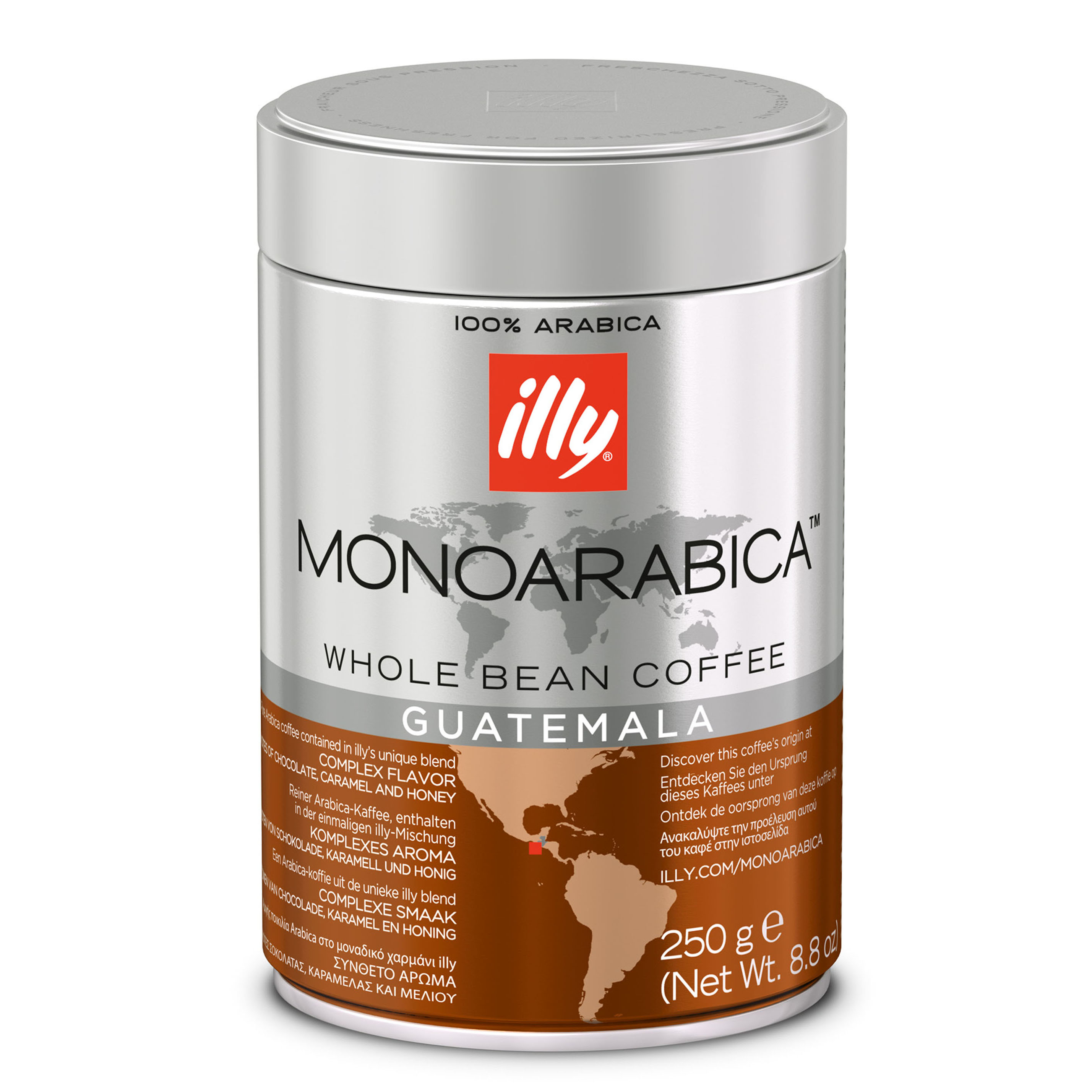 Illy Guatemala Monoarabica Whole Bean Coffee - 250g (pc)