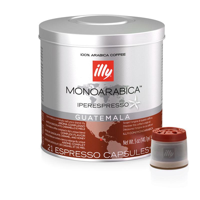 Illy Guatemala Monoarabica Iperespresso Espresso Capsule - 140.7g (pkt/21pcs)