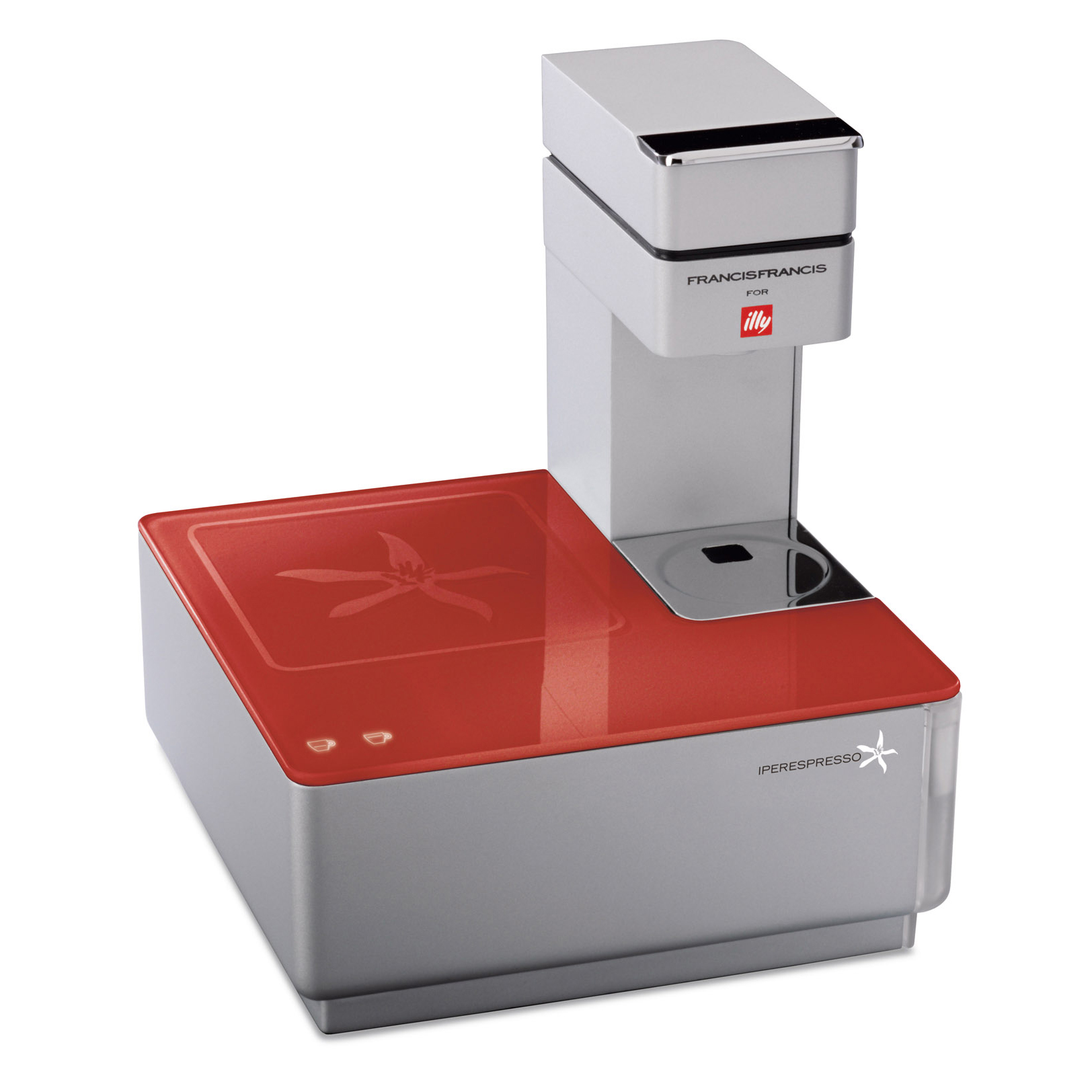 Illy Iperespresso Y1 Espresso Machine - Red