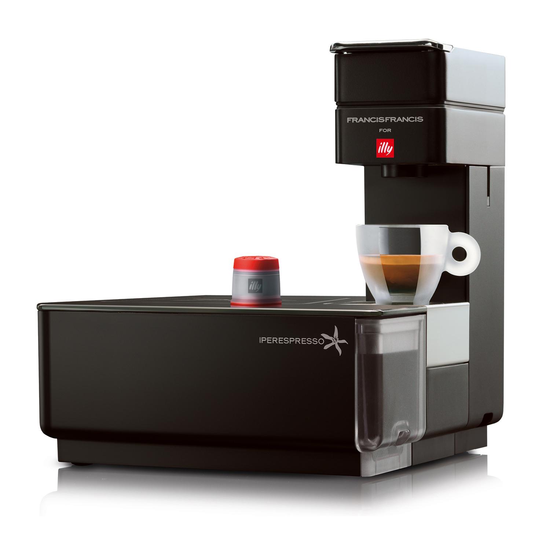 Illy Iperespresso Y1 Espresso Machine - Black