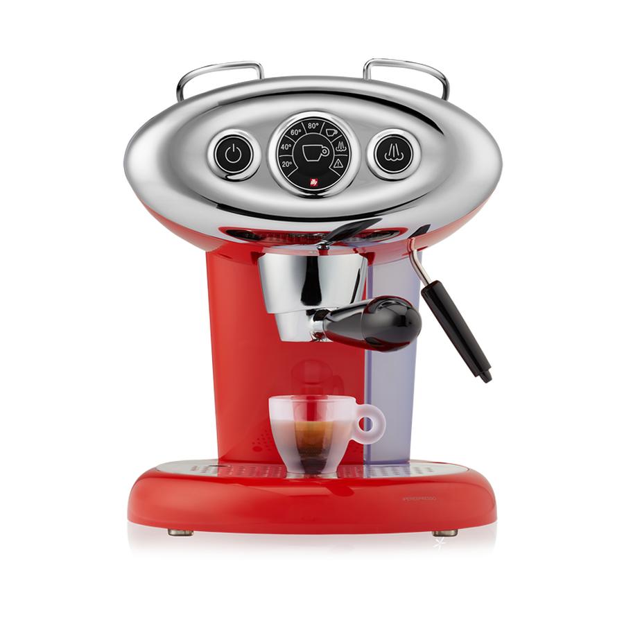 Illy X7.1 iperEspresso Machine - Red