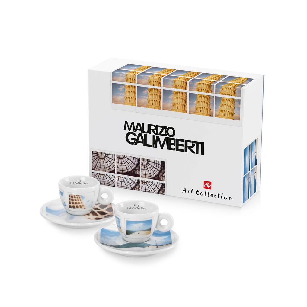 Illy Maurizio Galimberti Cappuccino Cups (box/2pcs)
