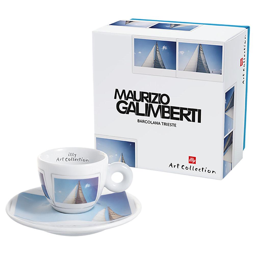Illy Maurizio Galimberti Single Espresso Cup & Saucer (pc)