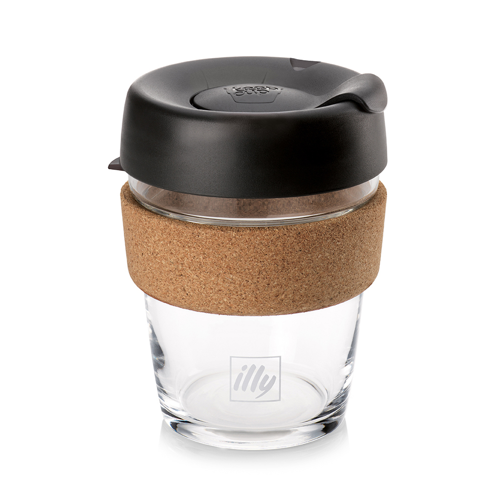 Illy KeepCup Glass Travel Mug - 12oz (pc)