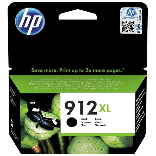 HP 912XL (3YL84AE) High Yield Ink Cartridge - Black