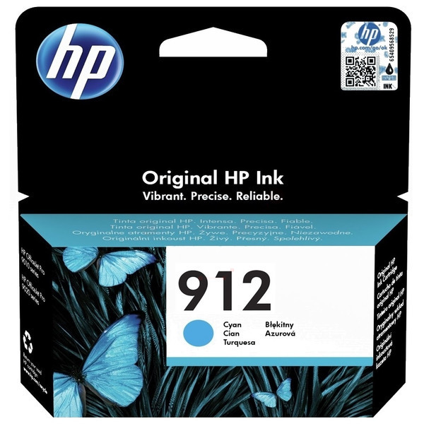 HP 912 (3YL77AE) Ink Cartridge - Cyan