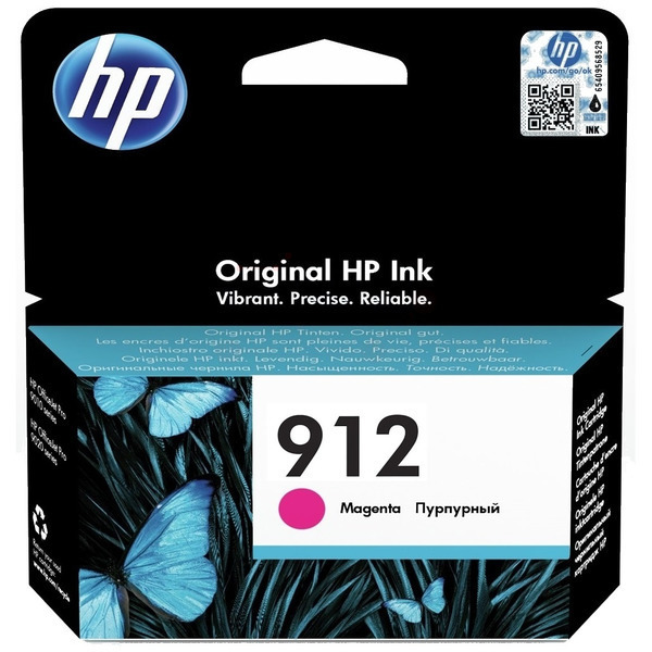 HP 912 (3YL78AE) Ink Cartridge - Magenta