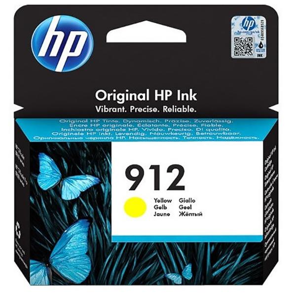 HP 912 (3YL79AE) Ink Cartridge - Yellow