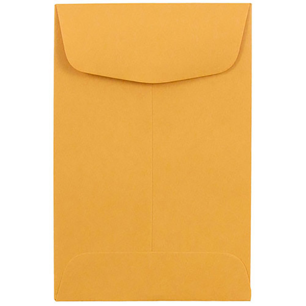 Topstar Envelope 4 x 3in - Brown (box/1000pcs)