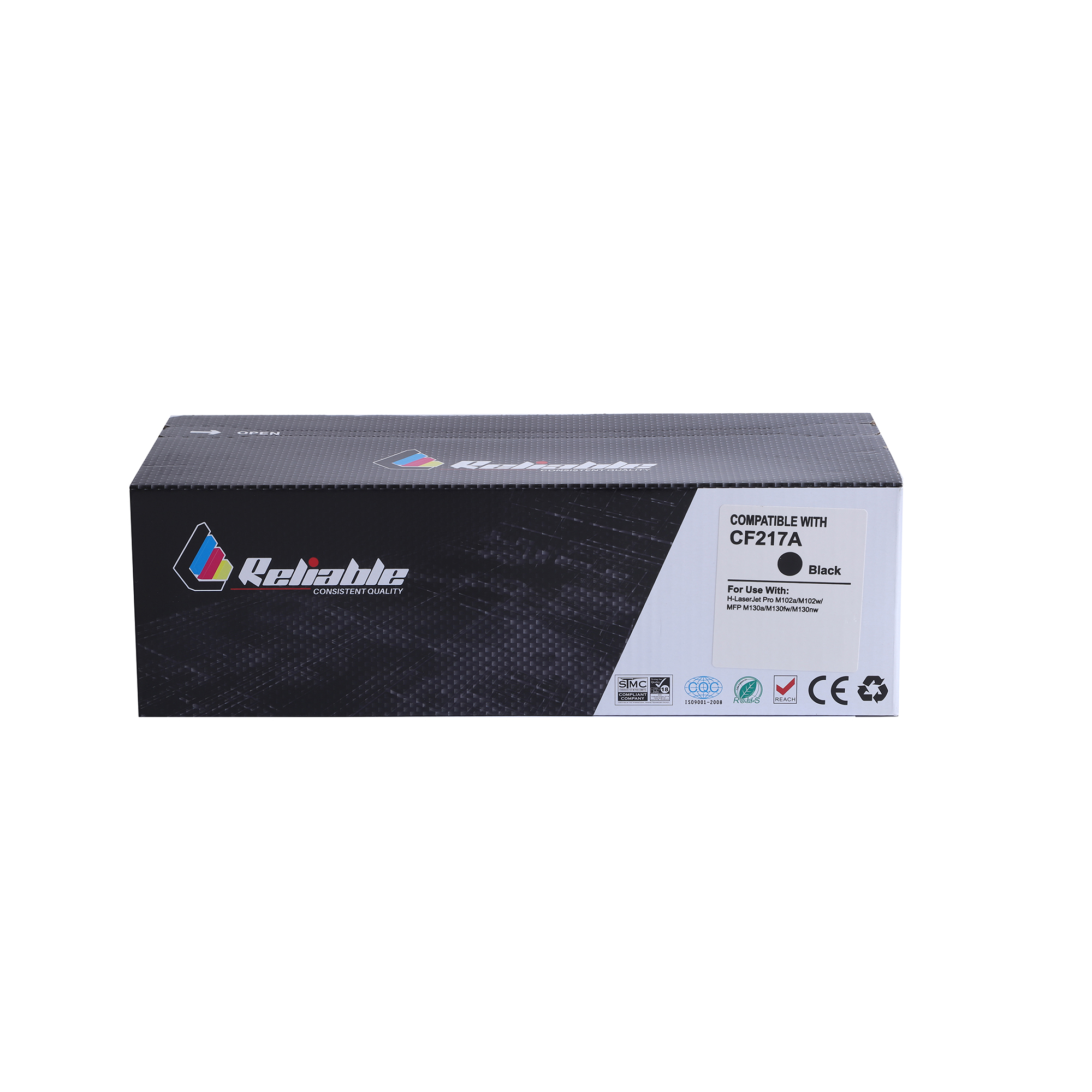 Reliable 17A (CF217A) Compatible Toner Cartridge - Black