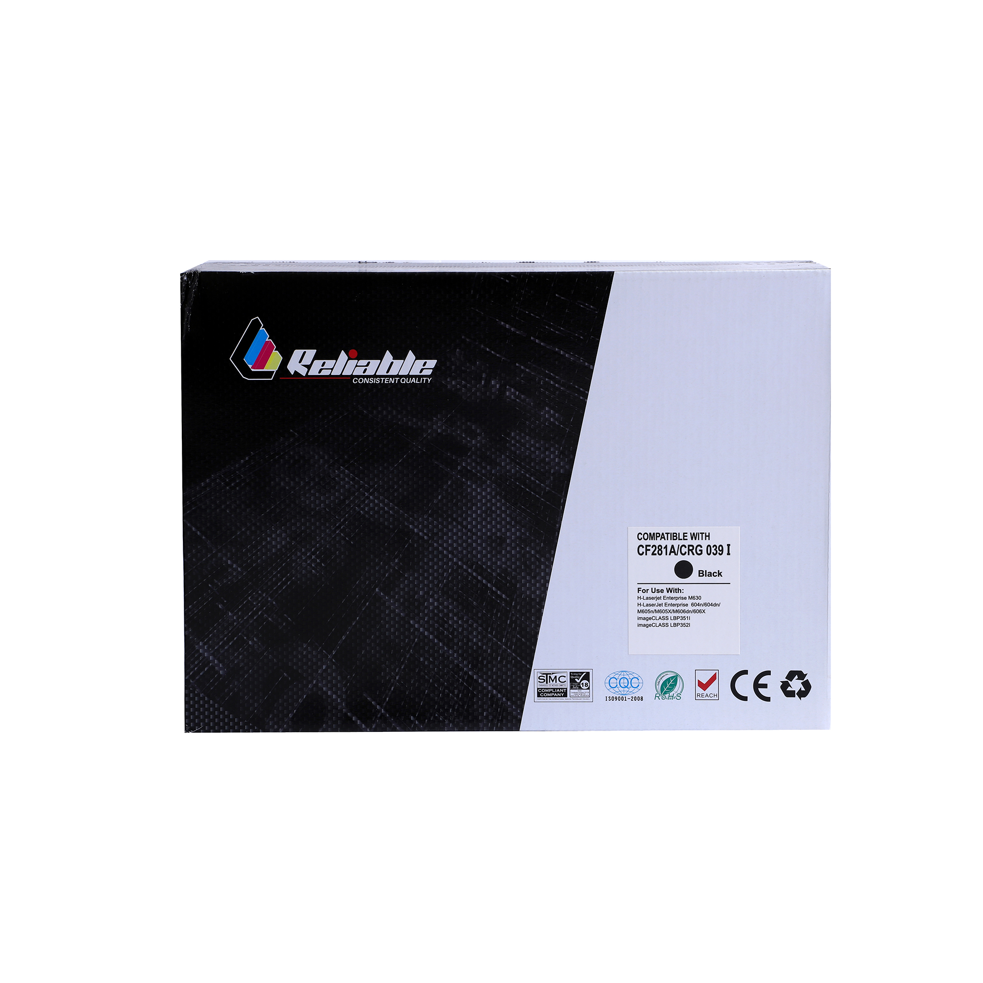 Reliable 81A (CF281A) / 0391 Compatible Toner Cartridge - Black