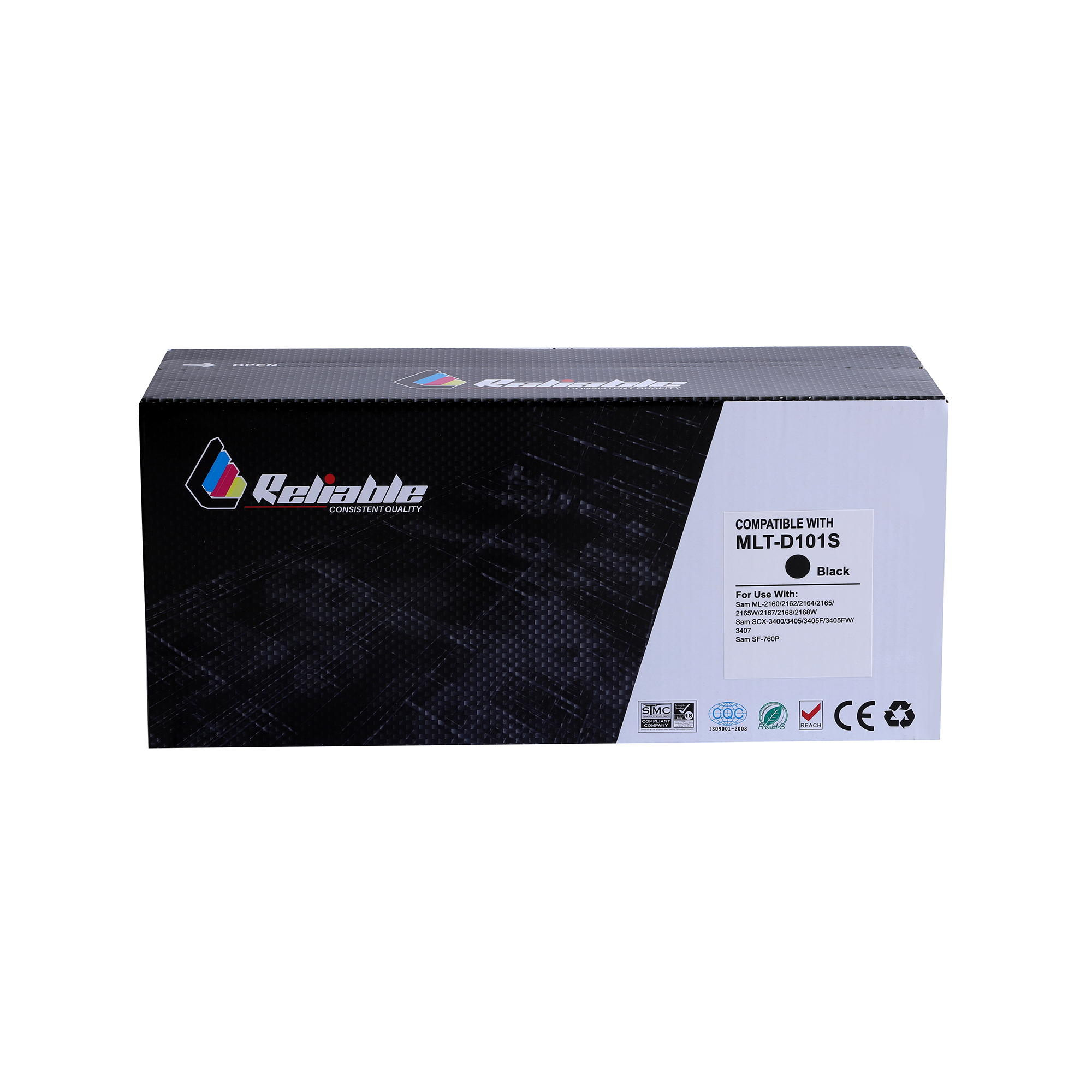 Reliable MLT-D101S Compatible Toner Cartridge - Black