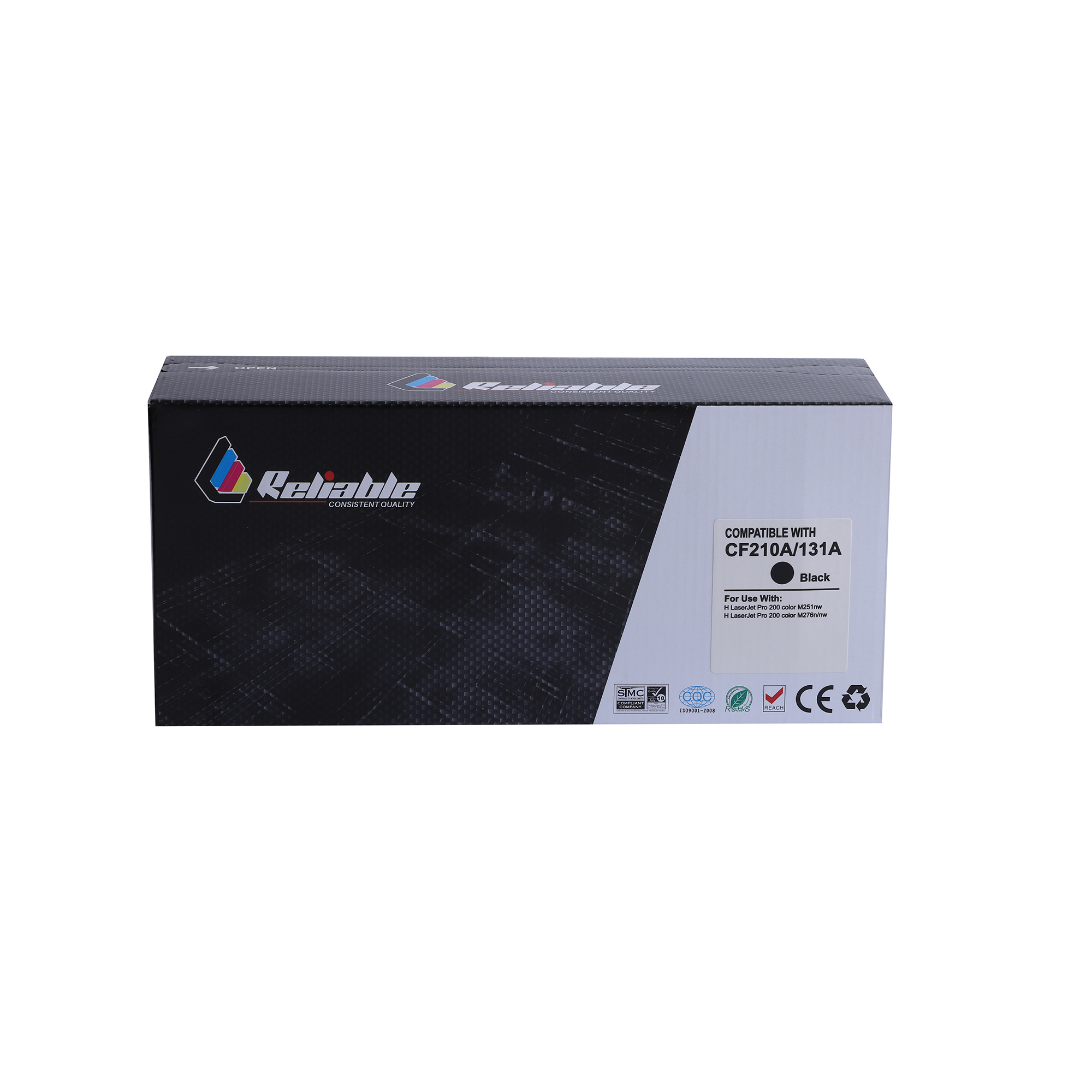 Reliable 125A (CB540A) / 131A (CF210A) / 128A CE320A Compatible Toner Cartridge - Black