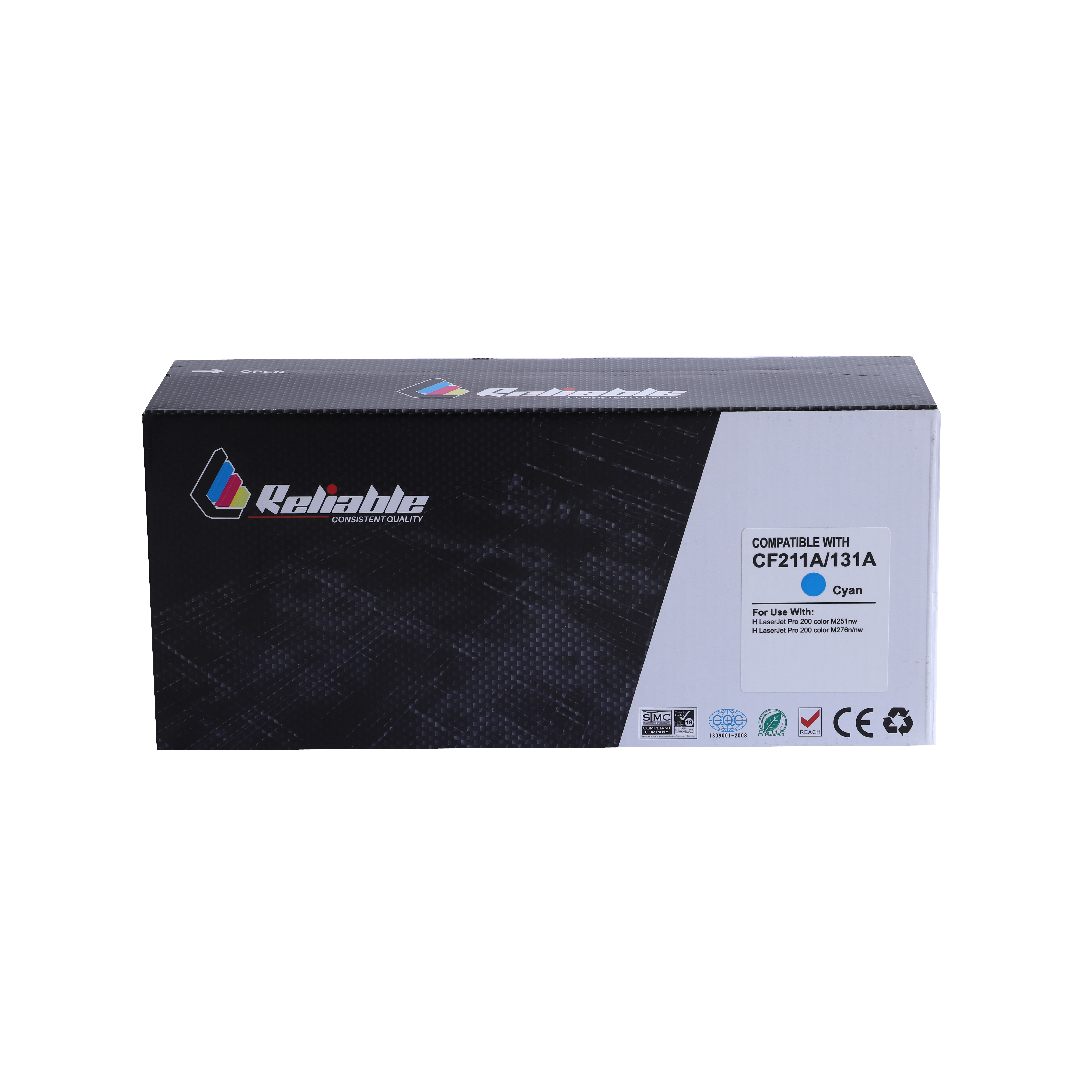 Reliable 125A (CB541A) / 131A (CF211A) / 128A (CE321A) Compatible Toner Cartridge - Cyan
