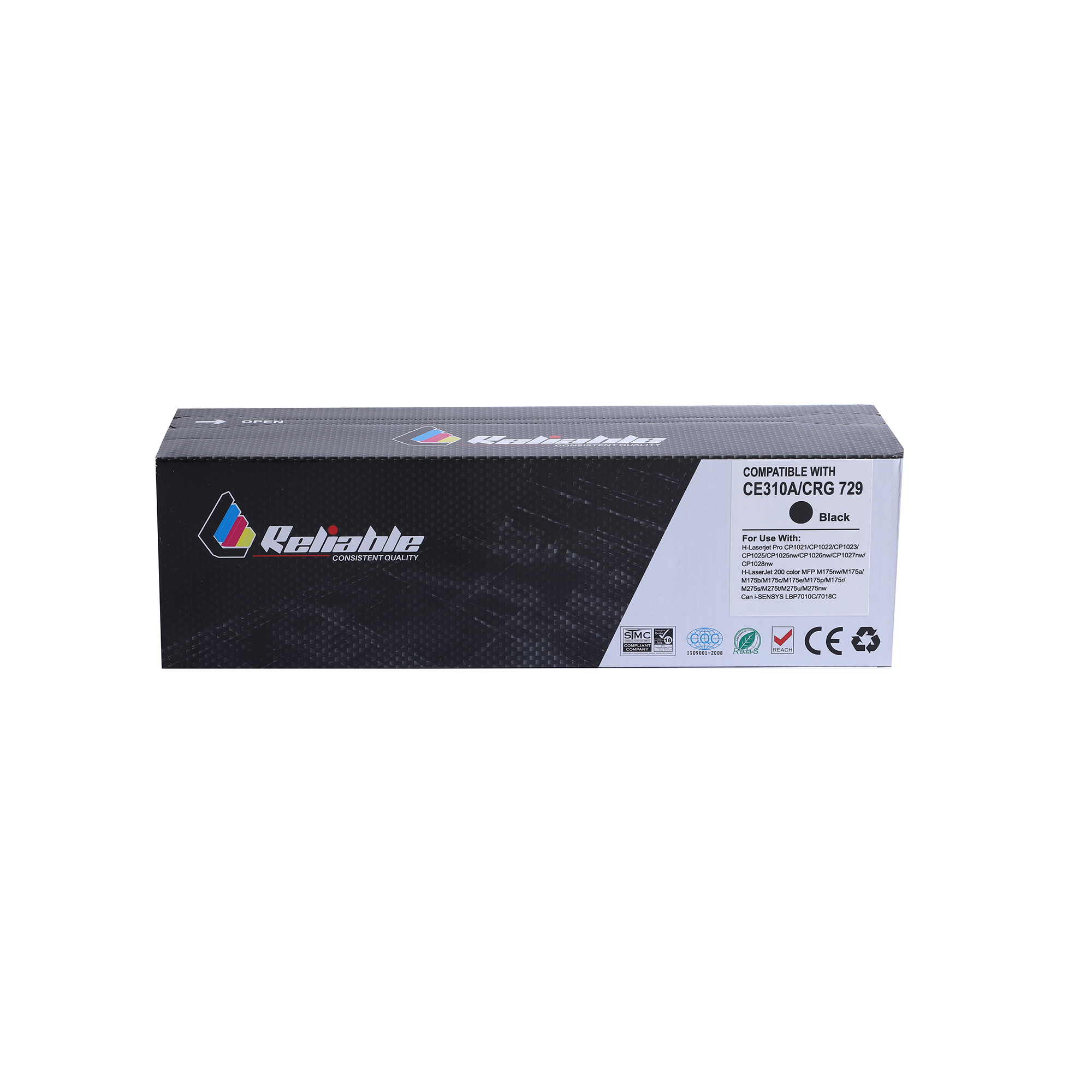 Reliable 130A (CF350A) / 126A (CE310A) Compatible Toner Cartridge - Black