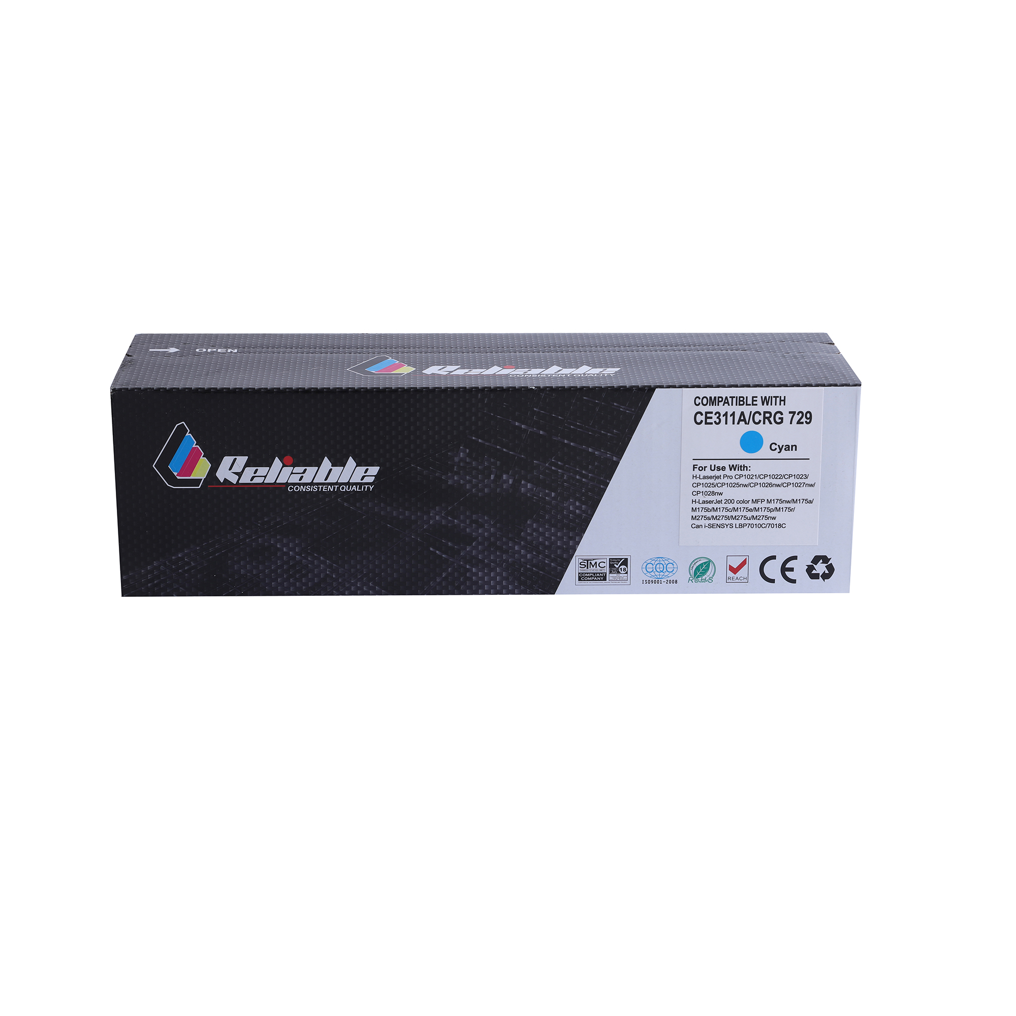 Reliable 130A (CF351A) / 126A (CE311A) Compatible Toner Cartridge - Cyan
