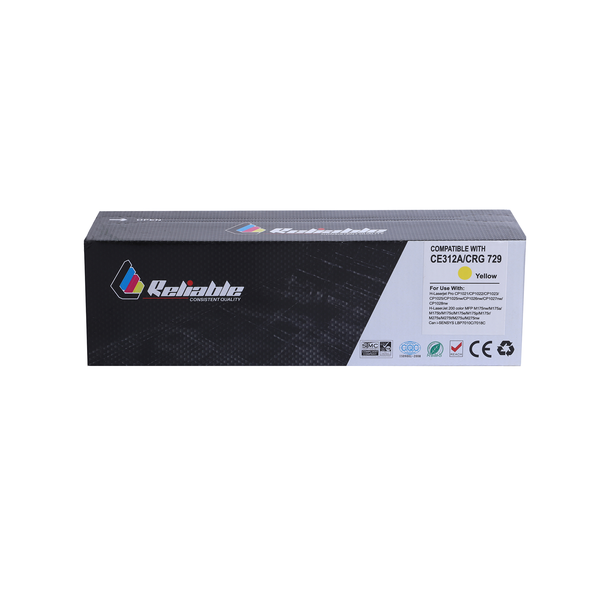Reliable 130A (CF352A) / 126A (CE312A) Compatible Toner Cartridge - Yellow