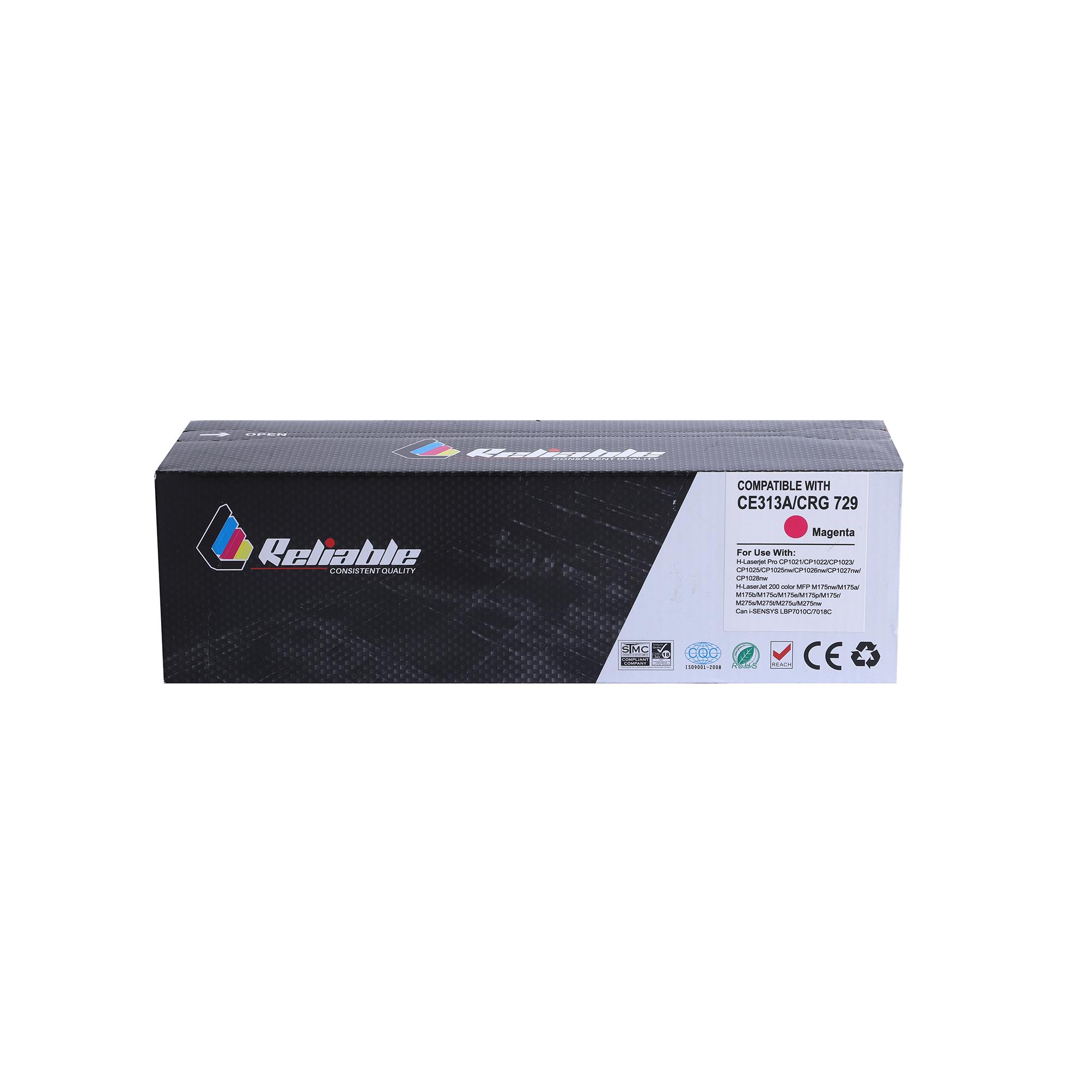 Reliable 130A (CF353A) / 126A (CE313A) Compatible Toner Cartridge - Magenta