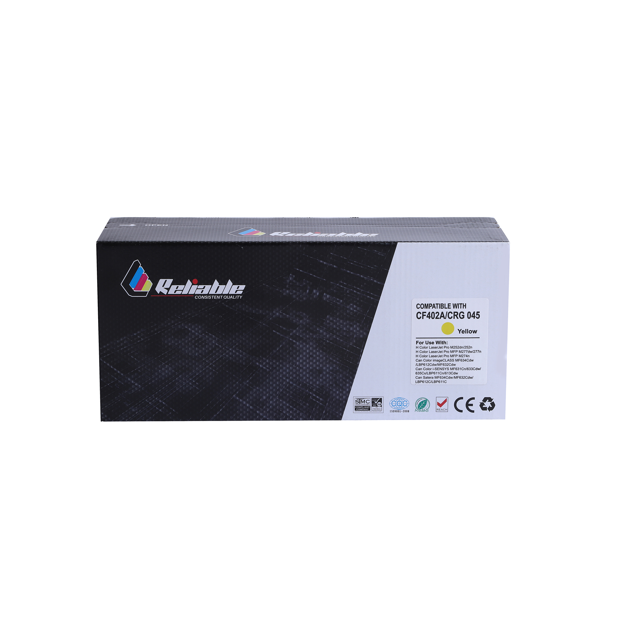 Reliable 201A (CF402A) Compatible Toner Cartridge - Yellow