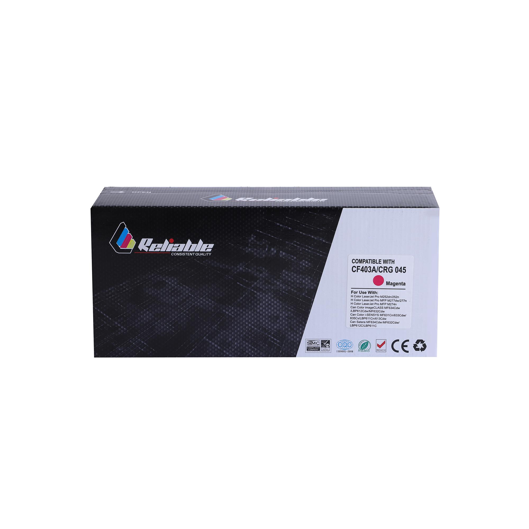 Reliable 201A (CF403A) Compatible Toner Cartridge - Magenta